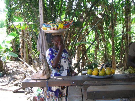 Simply a smile, Ghana