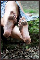 Simply feet..