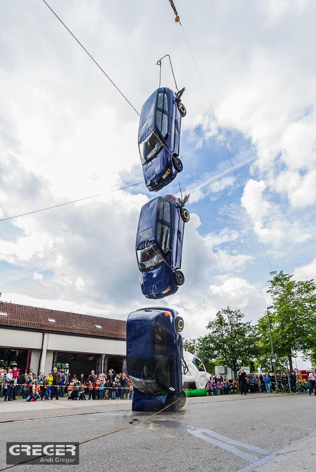Simulation Verkehrsunfall