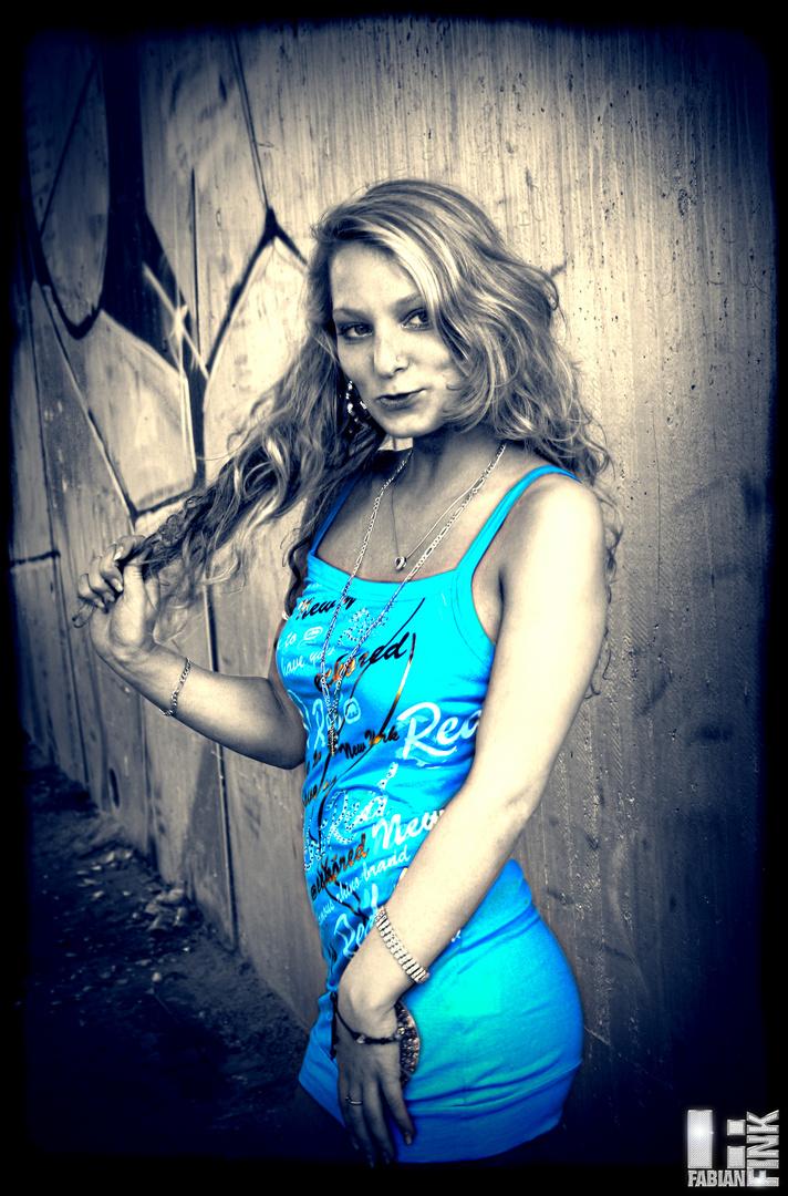 Sina Blue Dress