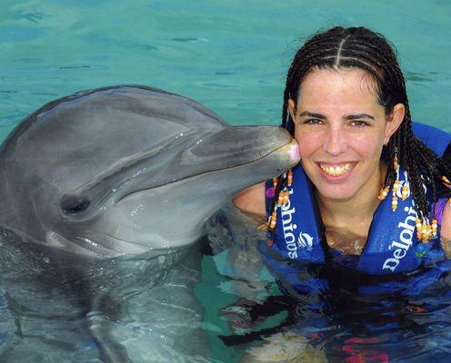 Sind sie nicht süß...die Delphine?