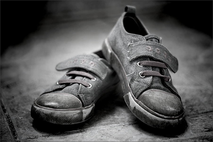 Sind so kleine Schuhe ...