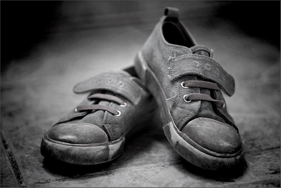 Sind so kleine Schuhe...