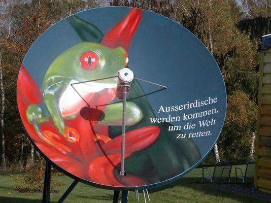 Sind wir alleine ? Landesgartenschau Trier Wetterfrosch