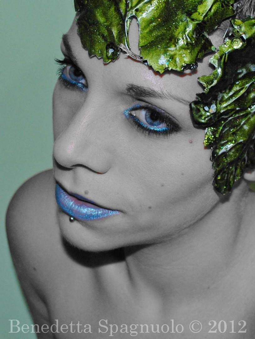 """Sinestesia,self portrait#2, 2012"""