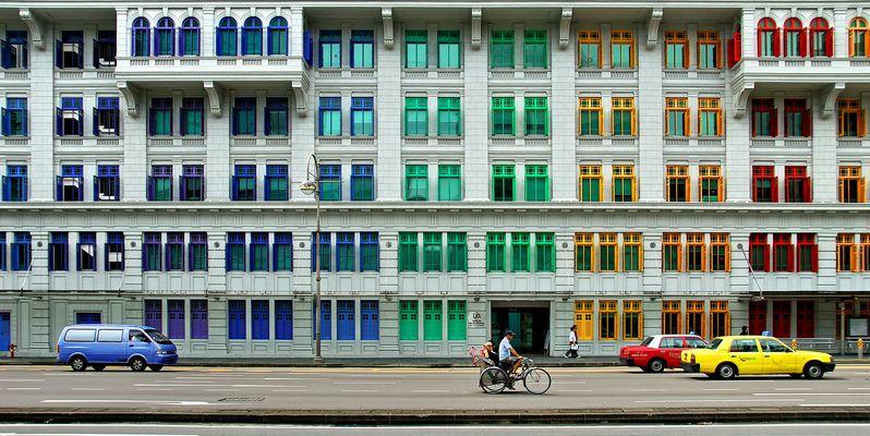 Singapore - Farbenfroh - Mica Building