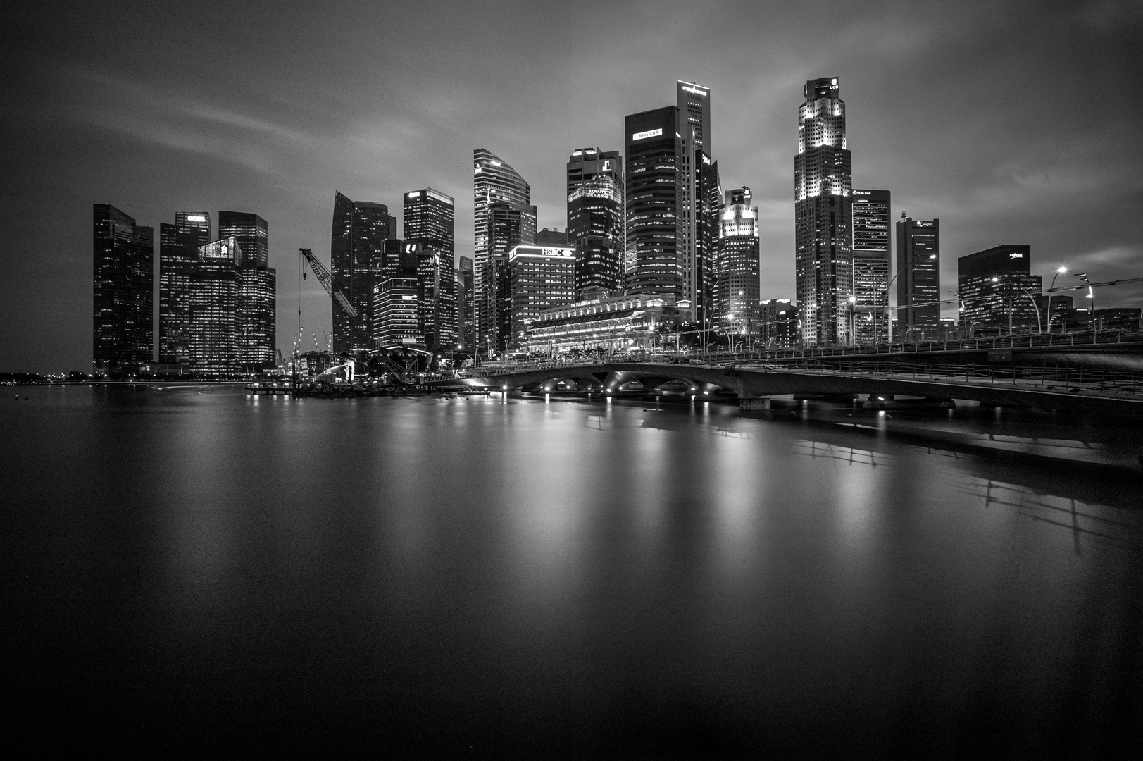 Singapore in Black & White
