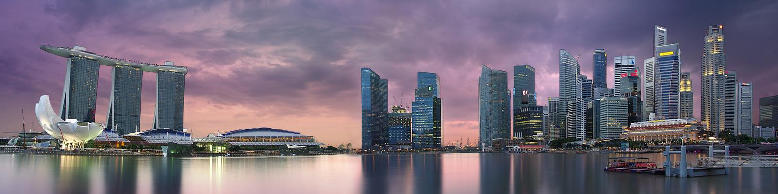 Singapore - Marina Bay View