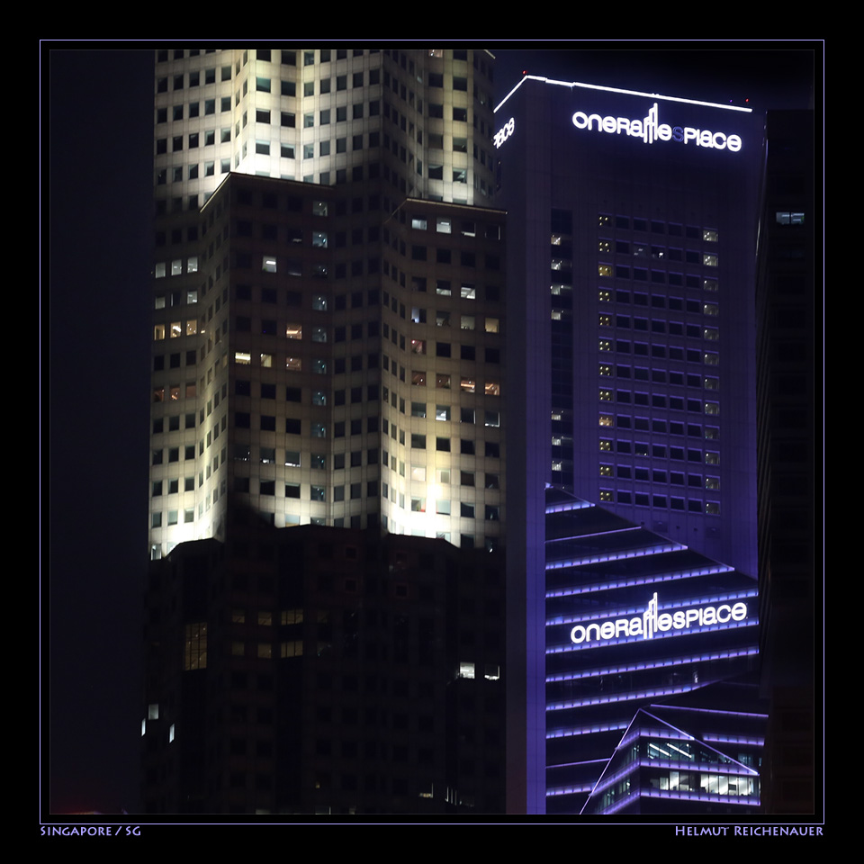 Singapore Night Impressions I, Singapore / SG