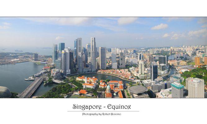 Singapore Skyline - Equinox #2