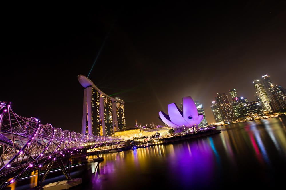 Singapore Skyline I