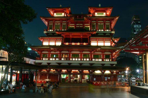 Singapore Temple Chinatown