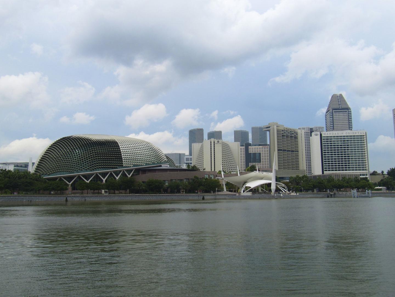 Singapur, Esplanade und Singapore River