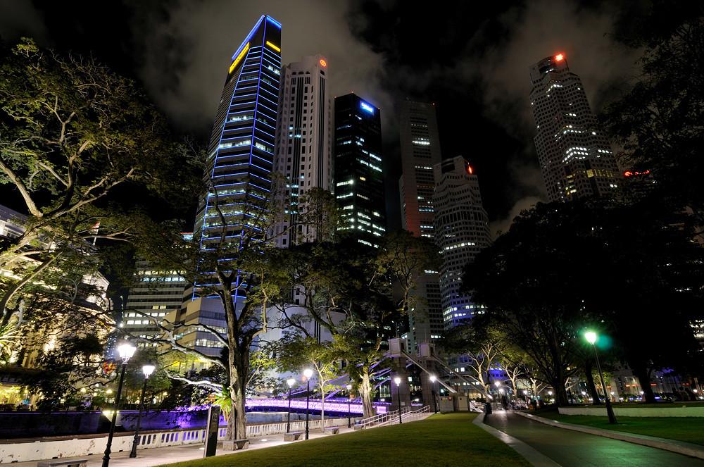 Singapur - financial