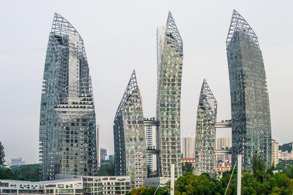 Singapur. Keppel Bay.