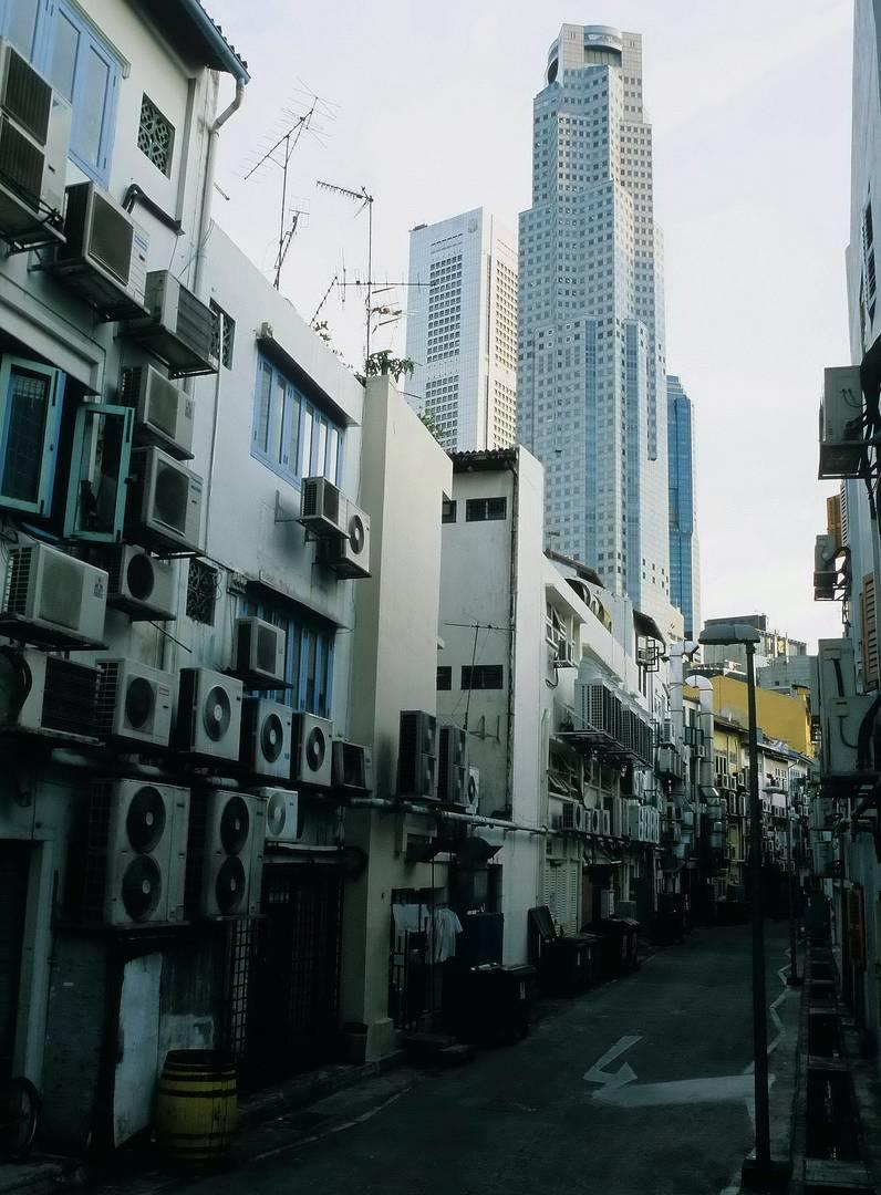 Singapur Klimaanlagen - Klimawandel