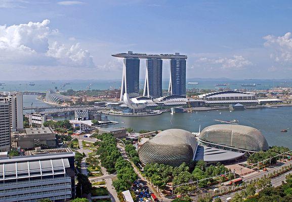 Singapur - Marina Bay