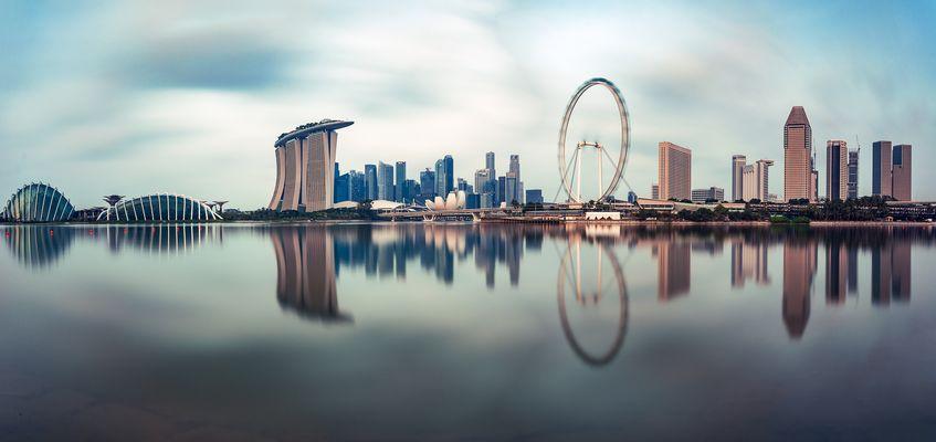 Singapur - Marina Bay Panorama