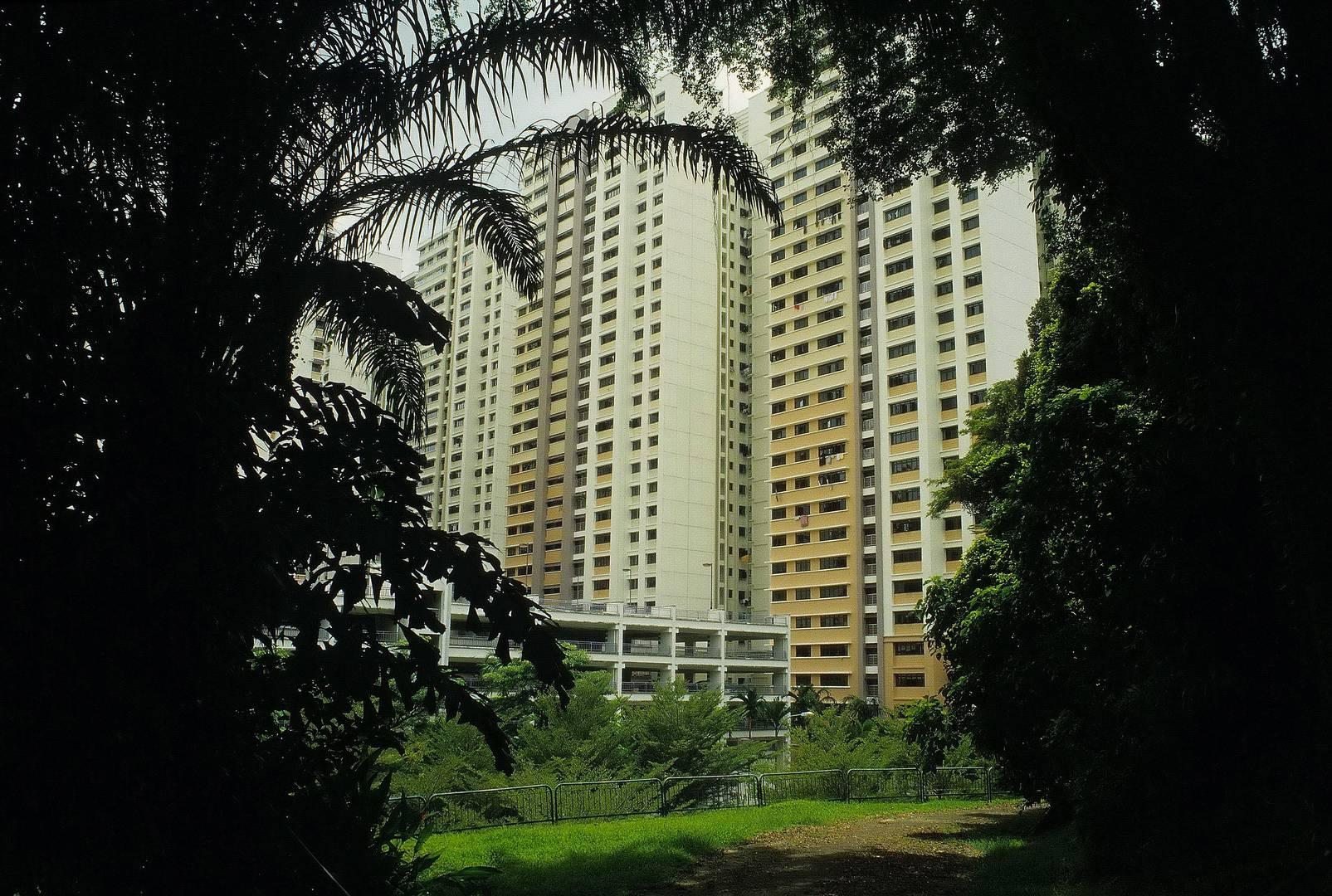 Singapur Wohnsilo