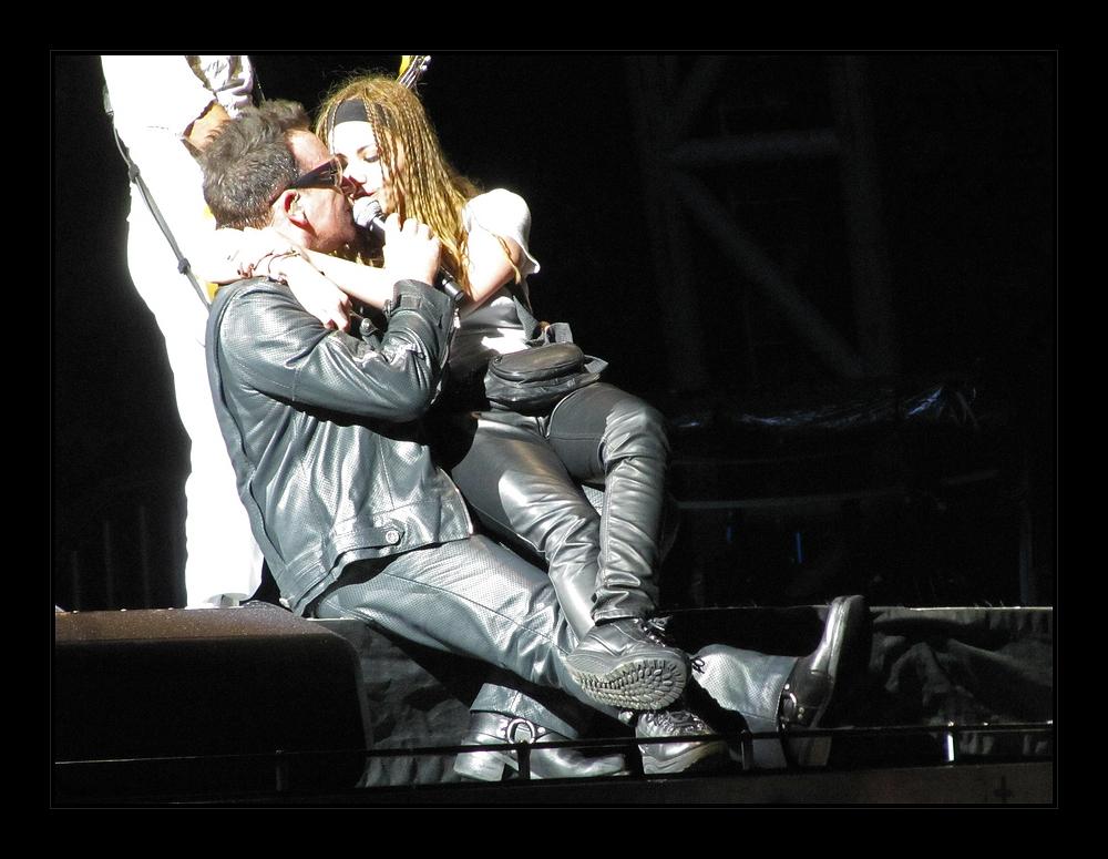 Singen mit Bono