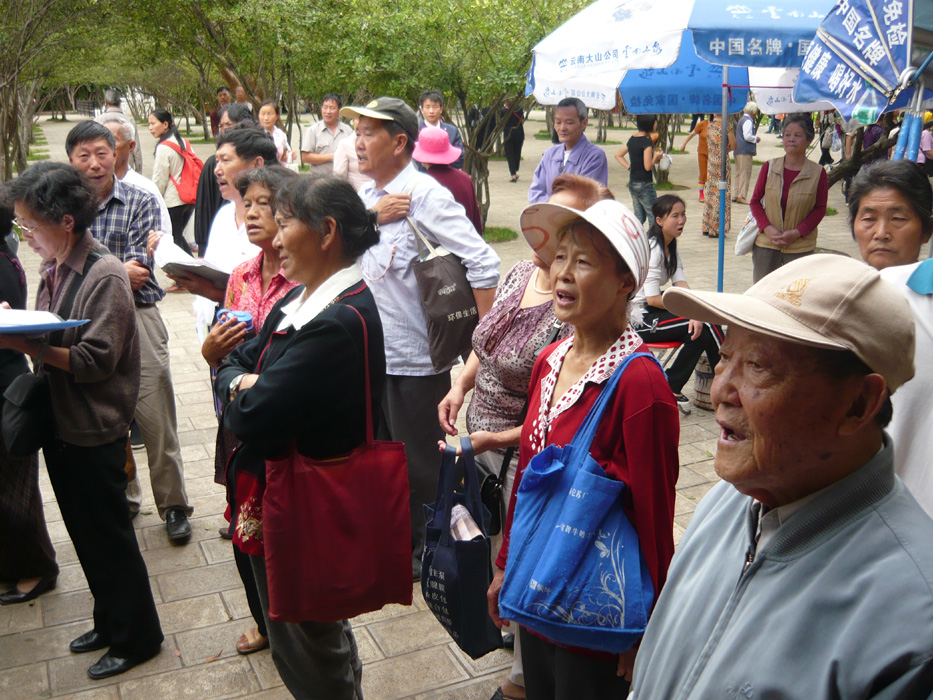 Singende Chinesen