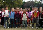 Singende Kindergartenkinder