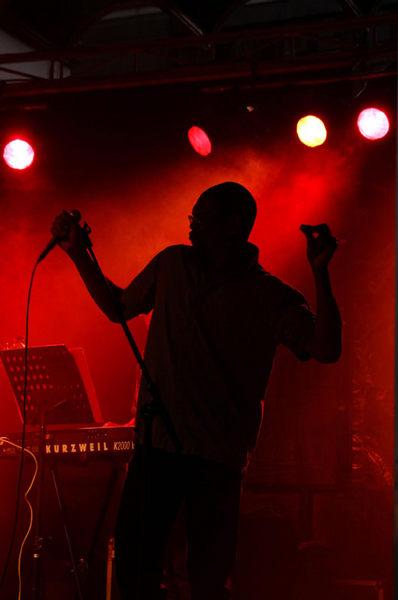 Singing....