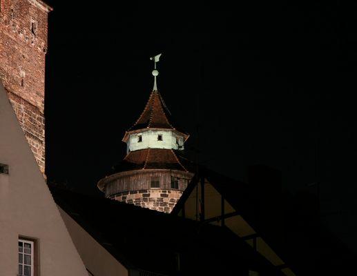 Sinnweltturm auf der Nürnberger Burg