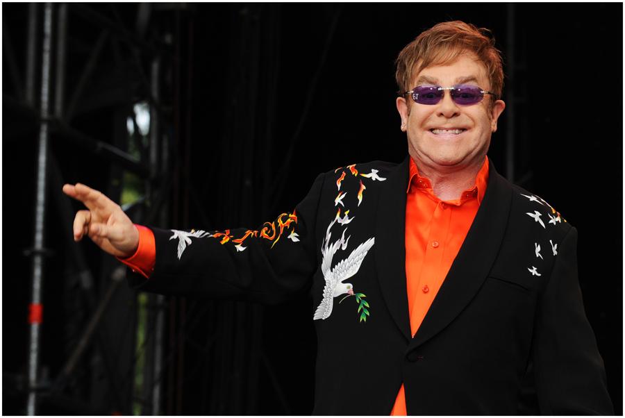 Sir Elton John...