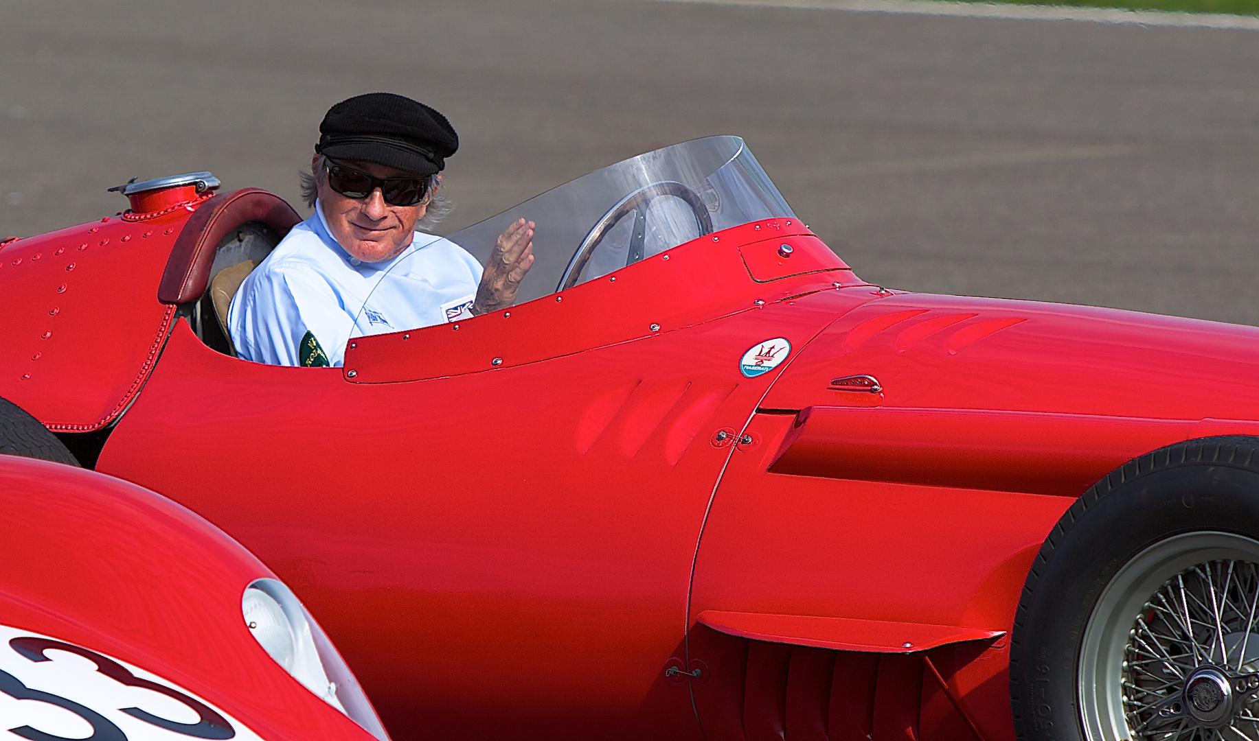 Sir Jackie Stewart, Goodwood 2011....