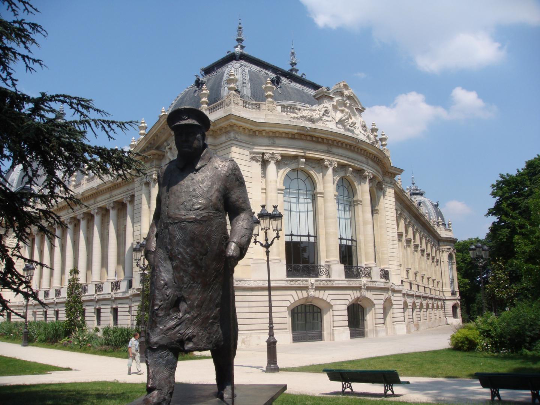 Sir Winston Churchill in Paris