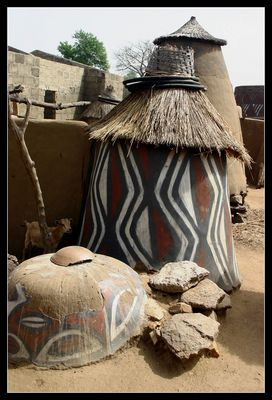 ... Sirigu Village, Ghana ...
