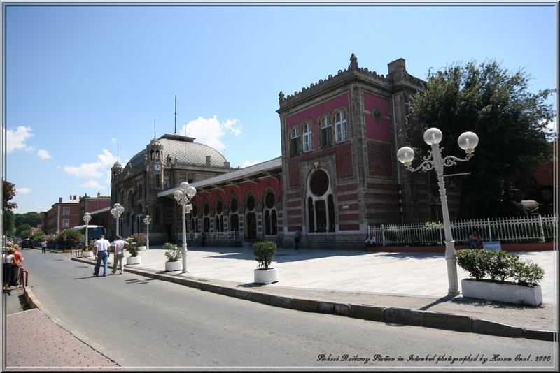 Sirkeci Railway Station in Istanbul.2006