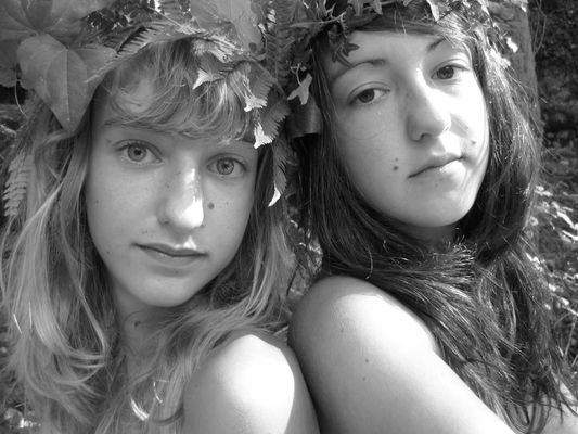 Sisters, Corsica, Aout 2009.