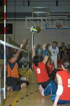 Sitzvolleyball Deutschland-Niederlande 2007