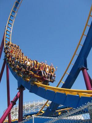 Six Flags Magic Mountain L.A.