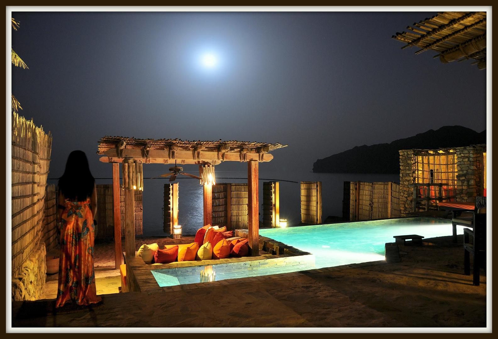 Six Senses night at Zighy Bay Oman