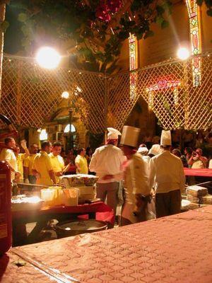 Sizilianische Großküche