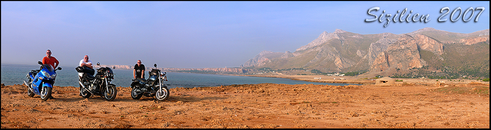 Sizilien 2007 - Motorradurlaub