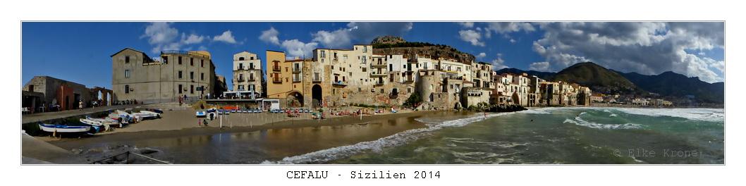 Sizilien's romantische Küstenstadt Cefalu