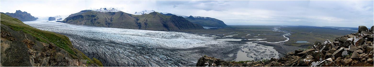 Skaftafellsjökull auf Island