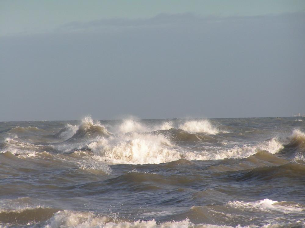Skagen-Ostsee und Nordsee treffen sich