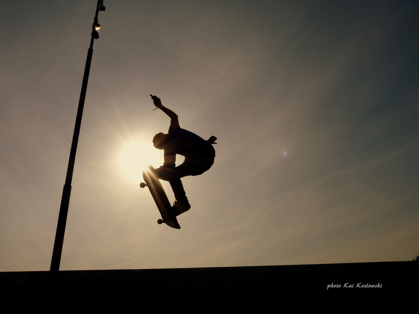 skate-kick on the sun