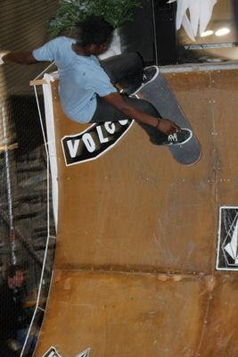 skateboard Contest auf der ISPO 2011