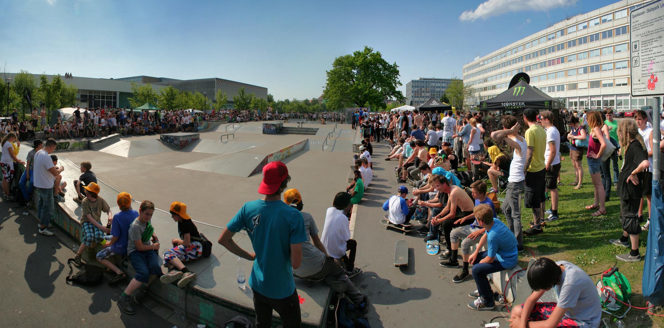 Skateboard-Contest in Dresden (01.05.2012)