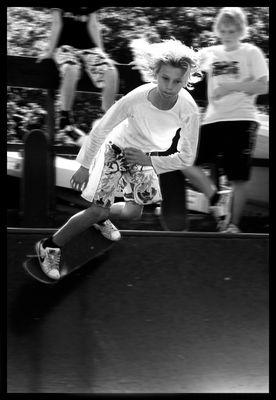 Skateboarder in Dänemark