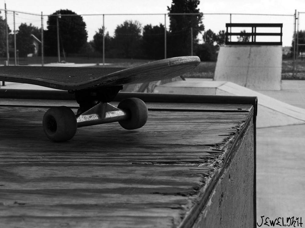 Skateboardin', lovin' it!