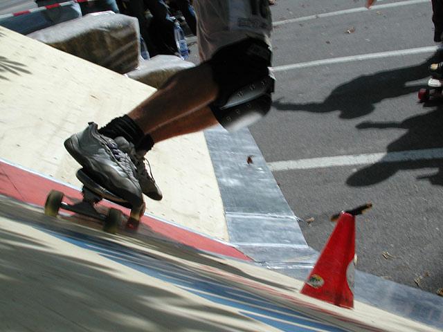 Skateboardrennen 2 von 2