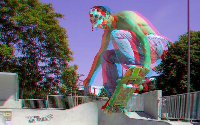 Skater (3D-Foto)