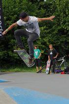 Skater bei der Convention auf dem Hessentag 2011